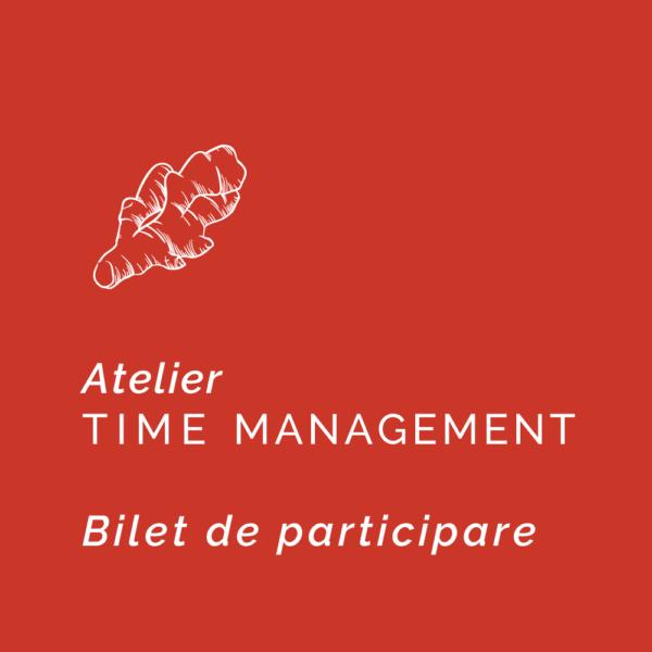 Time Management Ginger-Time-Bilet
